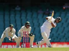Rishabh Pant hits 64-ball fifty against Australia in the third Test at SCG. File Photo: @BCCI