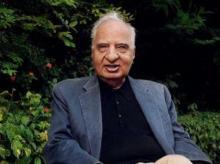 Portrait of Ved Mehta