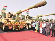 howitzer built by L&T, Armoured System Complex in Hazira