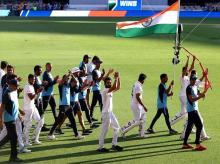 India cricket team after Brisbane Test