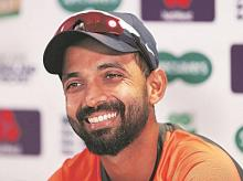 Ajinkya Rahane, India's stand-in test captain