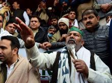 farmers' protests, Rakesh Tikait