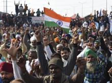 Farmer protest, Ghazipur