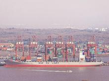 Ports, shipping, ships, container, transport, waterways, water