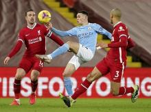 Liverpool vs manchester city, phil foden, henderson