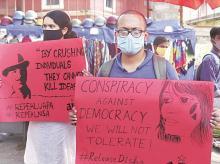 Disha Ravi, protests, democracy
