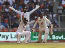 India vs England 3rd Test in Ahmedabad. Photo: Sportzpics for BCCI