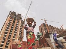 labour force, jobs, employment, unemployment, women, gender, female, workers, construction, real estate, welfare schemes