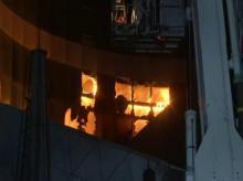 Coronavirus hospital fire, Mumbai