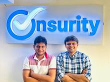 Onsurity co-founders Yogesh Agarwal and Kulin Shah