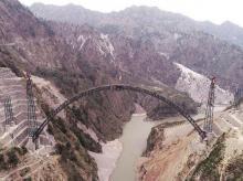 railways, bridge, Chenab Bridge, world's highest railway bridge