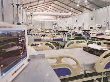 ICU hospital beds, coronavirus, covid-19, quarantine