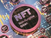 Non-fungible token, NFT, cryptocurrency, blockchain