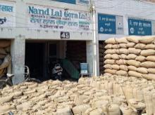 Khanna grain market in Punjab