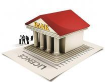 Banks, banking, bank licence