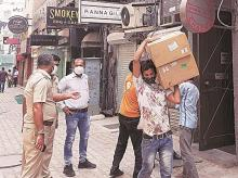 On Friday, the police seized oxygen concentrators from two eateries in Delhi's Khan Market. File photo: PTI
