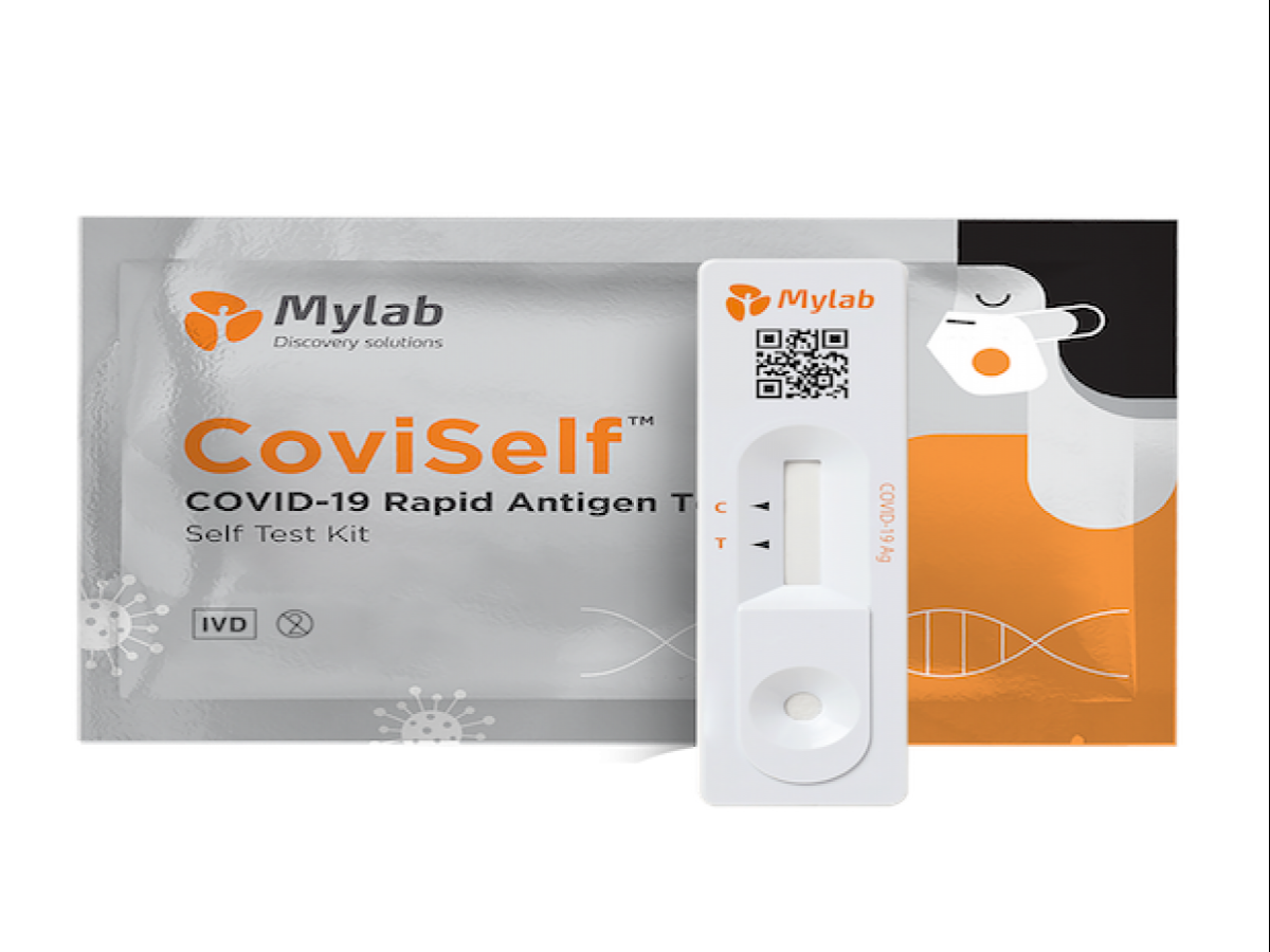Start-up launches India's first Covid home test kit