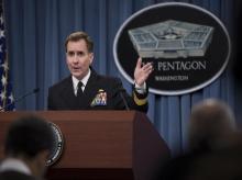 US Pentagon Press Secretary John Kirby