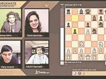 Chess.com, Viswanathan Anand, Nikhil Kamath