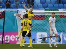 Sweden's Sebastian Larsson, Gustav Svensson, Euro 2020