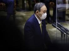 Japan Prime Minister Yoshihide Suga