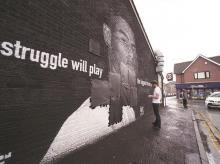 mural of Marcus Rashford, racism