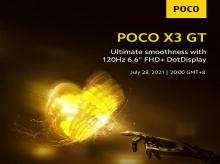 POCO X3 GT launch