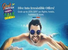 The Great Indian Travel Sale is on: Win daily deals & discounts on MakeMyTrip till 16th August
