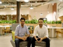 Doxel co-founders Saurabh Ladha and Robin Singh