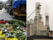 Inflation, IIP, factory output