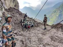 Himachal Pradesh, Kinnaur, landslide