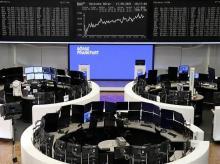 DAX graph, Frankfurt, stock market
