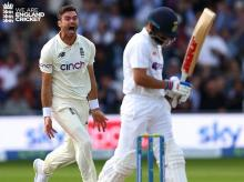 James Anderson, Virat Kohli, India vs England