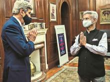 John Kerry, S Jaishankar