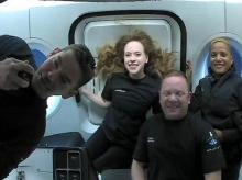 SpaceX, Inspiration4, crew members