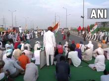 Bharat Bandh, farmers protests, Ghazipur border