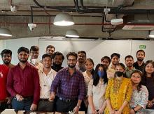 Team members of start-up ConnectedH