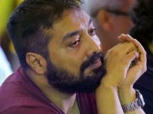 Udta Punjab producer Anurag Kashyap looks on at a press conference organized by Indian Film and Television Directors Association (IFTDA) in Mumbai