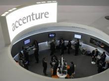 Accenture Plc's fourth-quarter revenue and profit beats Wall St estimates