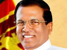 President of Sri Lanka Maithripala Sirisena