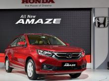 Amaze, Honda, Launch