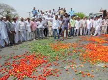 farmers protests, farmers strike