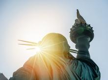 New York, statue of liberty, immigration, immgrants