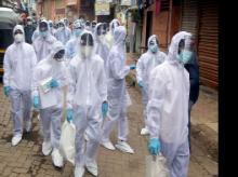Coronavirus, PPE, health workers