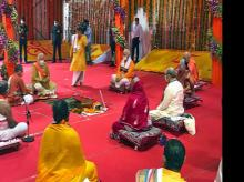 Narendra Modi, Anandiben Patel, Mohan Bhagwat