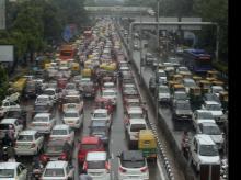 Huge Traffic, ITO, New Delhi