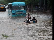 Gurugram rain,  waterlogging