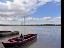 Floodwater, Yamuna river