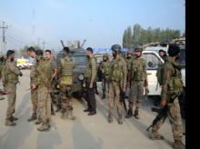 Kashmir encounter, army