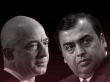 Amazon, Reliance, Mukesh Ambani, Jeff Bezos